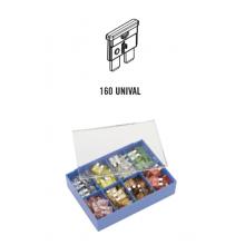 komplet varovalk UNIVAL 160 kos