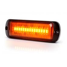 LED Opozorilna luč, oranžna - W1469 ( Z dvema načinoma utripanja in možnostjo sinhronizacije)