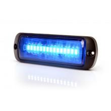 LED Opozorilna luč, modra - W1471 ( Z dvema načinoma utripanja in možnostjo sinhronizacije)