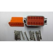 4049 Deutsch konektor 12 polni z ženskimi končniki in zaklopom