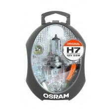 KOMPLET NADOMESTNIH ŽARNIC OSRAM H7 OS CLK H7 ORIGINAL