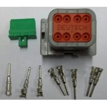 4058 Deutsch konektor 8 polni z moškimi končniki in zaklopom