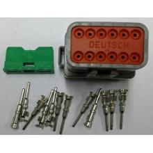 4059 Deutsch konektor 12 polni z moškimi končniki in zaklopom