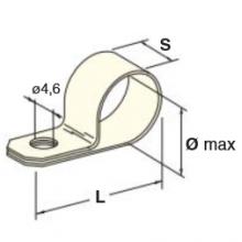 pritrdilna vezica za kabelski snop