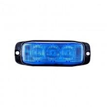 LED MODRA STROBO SPECIAL 12/24V 3XLED-579