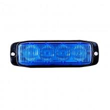 LED MODRA STROBO SPECIAL 12/24V 4XLED-580