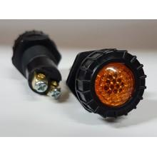 Ohišje za signalno lučko 944 - Oranžno (FI 17mm)