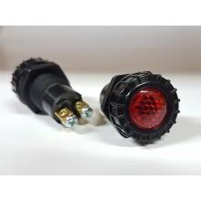 Ohišje za signalno lučko 946 - Rdeče (FI 17mm)