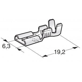 KABELSKI KONČNIK FASTON F630 WITH LOCKING NOTCH 1701651