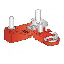 nosilec za varovalke MEGAVAL/POWERVAL z baterijsko sponko CBA X73