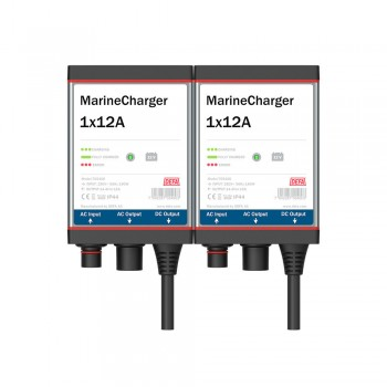 polnilec MarineCharger 2x12A
