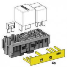 modul za 3 MAXICOMPACT varovalko, 1 MAXIRELAY, 2 MICRORELAY